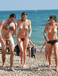 Nudist Beach..