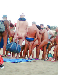 Real nudist beach..