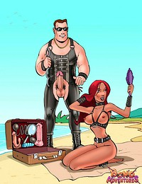BDSM sex adventure..
