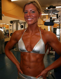 Loving muscle women.