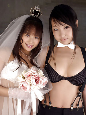 Porn pics of wedding night. Hot brides porn pictures.