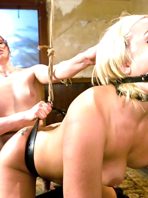 Krissy Leigh gets bound and fisted
