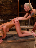 trouble outdoor bdsm