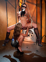 penetrated outdoor bdsm