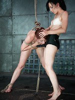 Intense Techinical Bondage From Elise Graves brutal bdsm