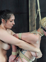 painful outdoor bdsm